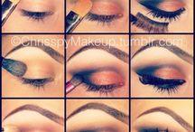 Make-up // smokey