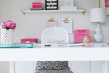 Organized home offices
