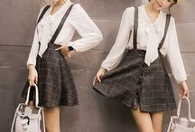"skirt / Use coupon code ""cutekawaii "" for 10% off at https://www.sanrense.com/"