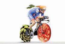 Biking..Biking..Biking! / Biking, road bike, bicycle, cycling, spinning, bike, biker / by Tearose