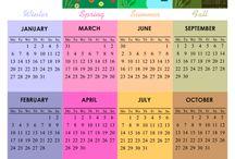 calendars: free printable 2014