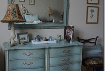Turquoise furnitures