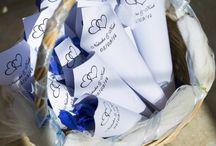 Blue / blue wedding ideas