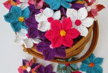 Crochet flowers / All sorts of crochet flowers... And please some time to make them