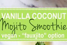 SMOOTHIES / smoothie recipes -- smoothies -- smoothie bowls -- smoothie bowl recipes -- healthy smoothies -- healthy drinks -- fruit smoothies -- veggie smoothies -- allergy friendly recipes -- healthy drink recipes