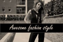 Awesome fashion style - Many brands / This board is about awesome and very stylish woman. Consists of beautiful dresses of many fashion designers.  #stylish #fashiondesign #dresses #styleicon