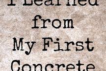 Betong / Concrete