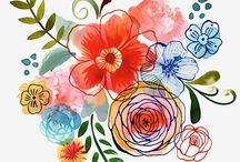 kvety,prirodniny...