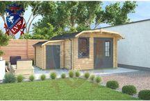 Dutch Barn Roof Log Cabins
