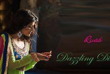 Fancy Anarkali Suits / Dazzling Divas by RIvaa