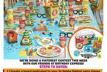 Kids party ideas / by Noriko Staton