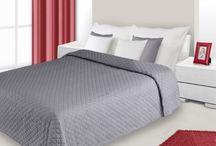 Jednoduché elegantné prehozy na posteľ / Prehozy bez ornamentov a realistických vzorov