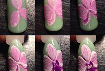 Fiori unghie