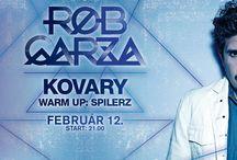 ROB GARZA (THIEVERY CORPORATION)  @ Akvárium Klub 2015. február 12. / Rob Garza (Thievery Thievery Corporation tagja) & Spilerz