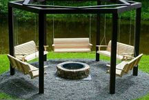 Outdoor living / Decks, patios, and pergolas... Oh my.  / by Kathy Price