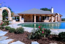 Pool, covered patio & outdoor kitchen south San Antonio / Pool, patio, outdoor kitchen and home remodel