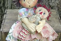 At The Dolls' Tea Party / I love dolls and always thought that I could share my love with a daughter of my own one day, however I was blessed with boys instead and they're not so keen on dolls.....so I'll just keep loving them on this board! / by Sara Freeman