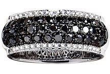 Black diamond jewellery