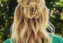 Mooie haarsteil
