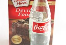 Recipes made with Dr.Pepper,Coke ,Sprite,Mountain Dew / Recipes using commercial drinks