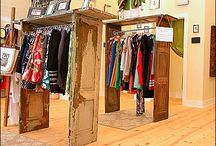 Vintage clothing / Neat ideas for vintage clothes and displaying