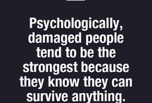 "Psychologically ""damaged"""