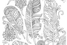Coloring pages / Värityskuvia