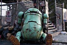 Diorama - Robots & Mechas