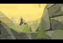 Cartoon Motocross