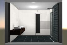 Sanidrome Wemmers Papendrecht voorbeeld 5 gerealiseerde badkamer / Sanidrome Wemmers uit Papendrecht toont graag de door hen gerealiseerde badkamers.