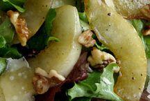 Warm pear salad / Pear salad