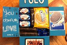 "College Care Package Ideas / Ideas for your friends and family for a ""pick me up"" when you're away from home!  / by FirstYear Success"