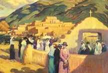 American Southwest Painters / Concentrating mostly on painters of New Mexico.
