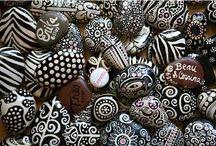 Taş Boyama / Paint Rocks