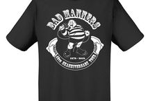 Bad Manners Merchandise Created By Dean Williams