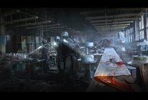 Sci-Fi Scenes / Wallpapers