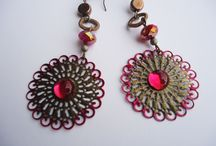 EARRINGS / colorful and glamour....
