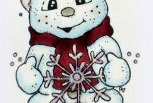 Sneeuwpoppen femmy