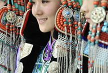 central asia / cultures and places of the central asian territories