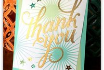 2014 - SU Cards - Another Thank You / by Heather's Attic - Stampin' Up