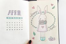 BuJo April