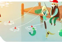 Google Doodles / by Carrie Chow