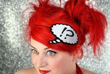 geek hair accessories / hair accessories