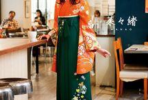 2- woman japan kimono