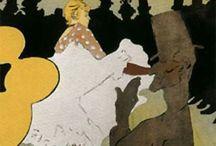 Postimpresionismo ( Touluse-Lautrec )