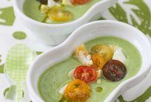 Sopa, cremas