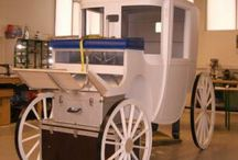 Carriage / Flying carriage for magic show