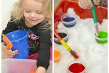 Winter Play Indoors & Outdoors