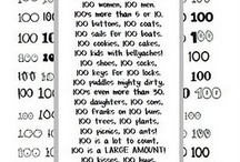 Hundredth Day of School / Welcome to Simply Kinder's Hundredth Day of School Pinterest Board. This board will contain teaching ideas, printables, art projects, curriculum, lessons, and activities for teaching calendar. Ideas are geared towards preschool (pre-k), kindergarten, and first grades!  Simply Kinder a teaching blog all about teaching kindergarten! / by Simply Kinder