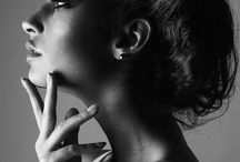 black and white beauty photography